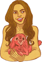 Pretty Girl, Ugly Dog by 20handstall