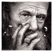 Old Rastaman by BACHT