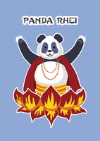 Panda Rhei by LemonSquash