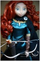 Disney Store Merida out of the box by kamarza