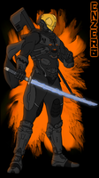 Enzer0: The Spartan Ninja by JamesBryce