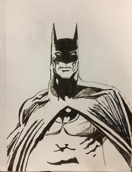 Batman By Neal Adams by Nathan-Brice-Art