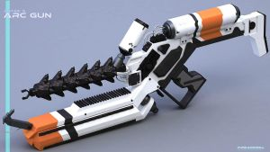 DISTRICT 9 ARC GUN-2 by punkandroll