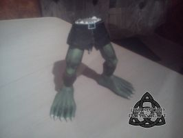 Digimon Ogremon Papercraft Legs by HellswordPapercraft