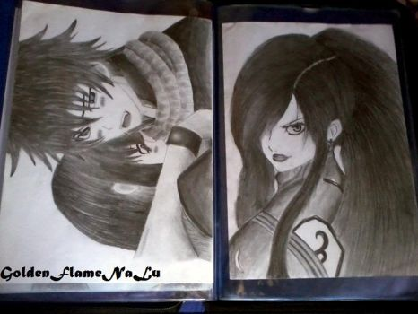 My recent best sketches in ma sketch book~@~! ^^ by GoldenFlameNaLu