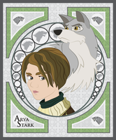Arya Stark by smallsqueaktoy