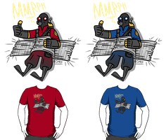 Pocket Pyro Shirt Designs by Bobfleadip