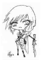 Chibi Lightning by berrie25