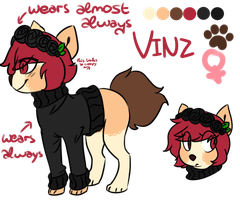 Vinz ref by iyd
