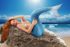 Not so Little Mermaid by blutooth58