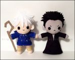 Chibi Jack Frost and Pitch Black by Serenity-Sama