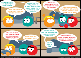 SC144 - Meet Marvin 14 by simpleCOMICS
