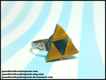 Triforce Ring by GrandmaThunderpants
