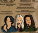 AWJTK Comic Character Sheet -The Hilliker Brothers by Sapphiresenthiss