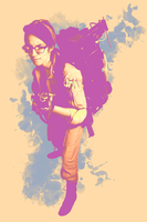 Ghostbusters Pastel Poster 1 by CaptainSenator