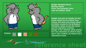 KGC Reference Sheet: Rodger by JWthaMajestic
