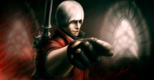 Man in Red (Dante from Devil May Cry) by Yojirous