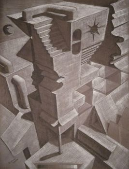 Persp Demolition in Charcoal by bdagger