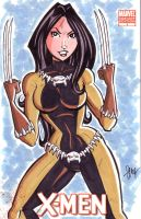 X-23 Fang Costume by calslayton