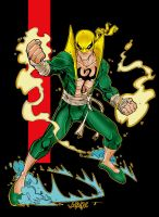 Iron Fist by JonBoy Meyers by Blindman-CB