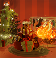 Pyro's Smissmas by Avibroso