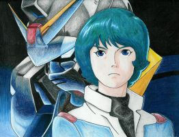 Zeta Gundam by lifegoes0n