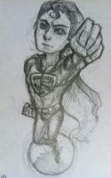 Superman sketch by messy-cat