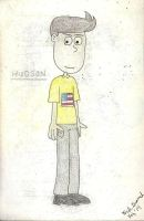 Character #1: Hudson by gretzelboy89