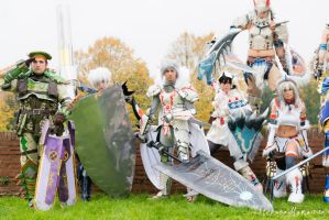 Monster hunter cosplay group by Style85