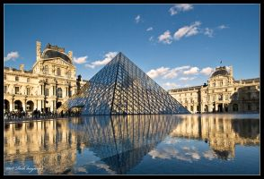 The Louvre. by mym8rick