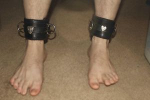 Leather Cuffs by connerchristopher