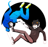 John and Karkat by AceintheWhole