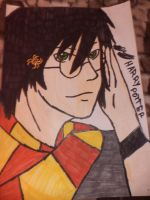 My first Harry Potter Drawing by BAStheVAMPIRE