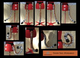 Tiger Tail (poseable) by MissRaptor