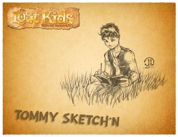 Tommy Sketching by FelipeCagno
