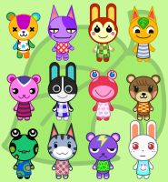 Tokidoki Animal Crossing by Mushroom-Jelly