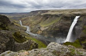 Iceland - #16 - Haifoss by filth666
