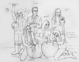 Metalocalypse Halloween - WIP by TerryXart