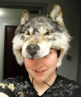 Me and the Wolf mask by pookyhorse