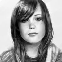 Ellen Page by thechinchen