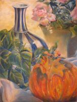 Pumpkin still life by emixoO