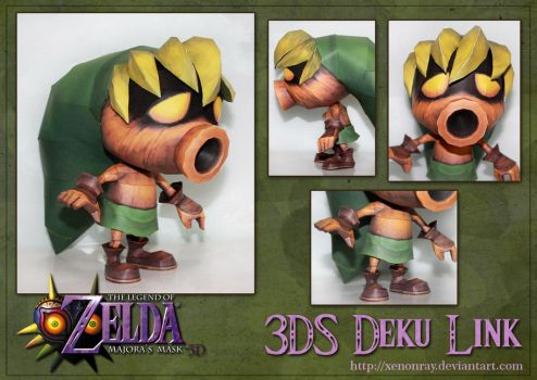 3DS Deku Link Papercraft Download by Avrin-ART