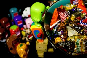 The Candy Crowd.. by PiliBilli