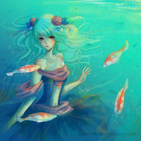 Under the Sea by CherryshMe