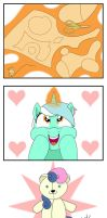 Hearts and Hooves Day - Lyra's Gift by Pony4Koma