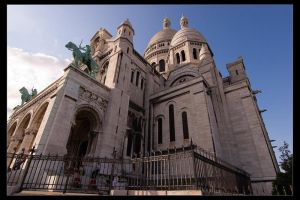 Sacre Coeur by Wyco