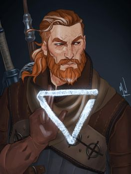 Witcher Heryn by Merwild
