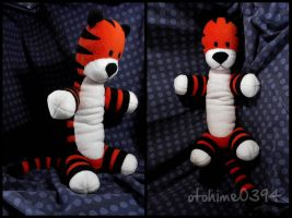 Hobbes - Fleece Plushie by AnnaPlummer