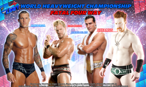Fatal Four Way - World Heavyweight Champion by DecadeofSmackdownV3
