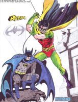 Batman and Robin 1 by hirokada